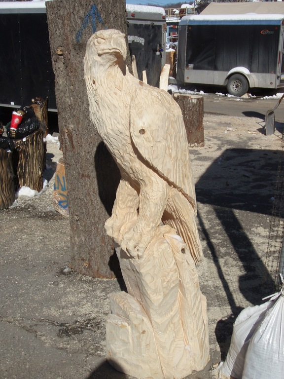 Ridgway chainsaw carvers rendezvous dream wood by