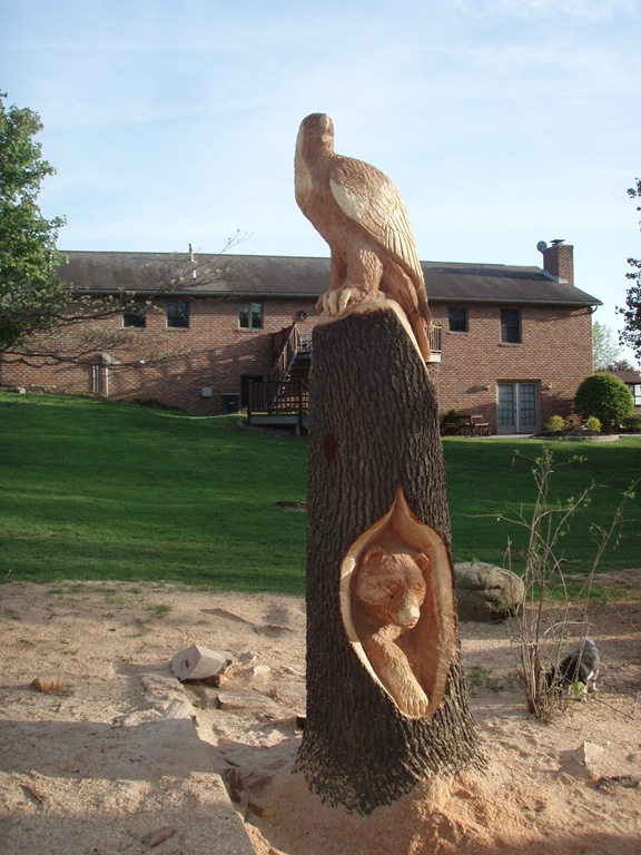 More akron area ohio carving dream wood by michael aya