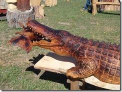 Gator and koi 028